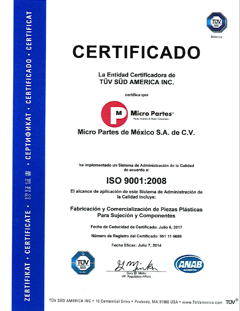 Re Certificate Iso 90012008 Micro Partes
